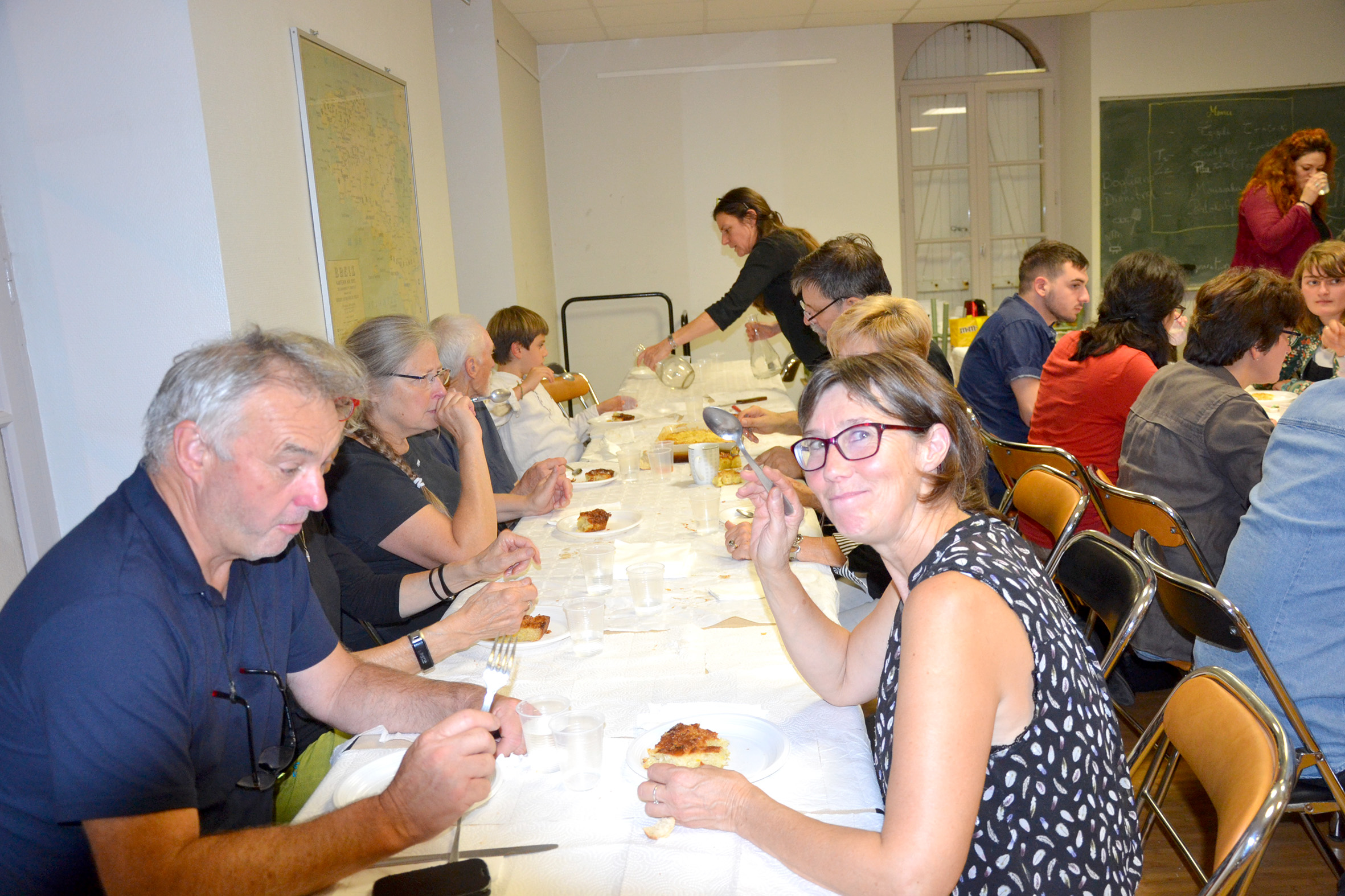 photo du Repas grec du 6/10/18